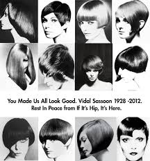 vidal sassoon dies but his cuts live on a look at the hair