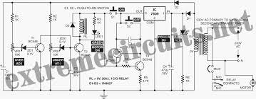 motor starter circuit diagram