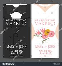 Shadi Invitation Cards Wedding Invitation Card Bride Groom Dress Stock Vector 367723148