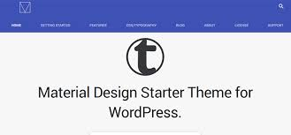 templates blogger material design 10 free material design wordpress themes