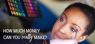 top makeup artist school how much money can you really earn as a makeup artist it might