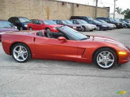 2006 corvette convertible 2006 daytona sunset orange metallic chevrolet corvette convertible