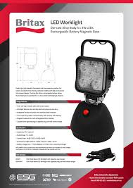 battery powered portable led work lights new portable led worklights with battery magnetic base esg asia