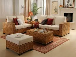wicker living room furniture elegant rattan 7859 home design with