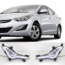 hyundai elantra daytime running lights for hyundai elantra 2014 2015 led drl daytime running light fog