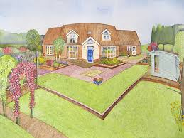 house portraits by kim whittingham watercolour artist and