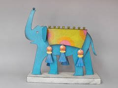 elephant menorah elephant menorah by acme animals artistic judaic promotions
