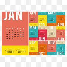 Desk Calendar Design Ideas 2018 Calendar Png Images Vectors And Psd Files Free Download