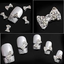 online buy wholesale rhinestones bow nail from china rhinestones