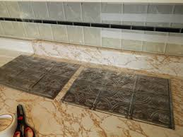 Grout Kitchen Backsplash Diy 5 Steps To Kitchen Backsplash U2013 No Grout Involved