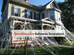 Halloween Decorations At Home by Haunted Halloween House Main Jpg