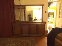 stag mahogany furniture u0027all matching u0027 dresser u0026 mirror desk
