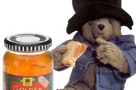paddington bear paws marmalade brand