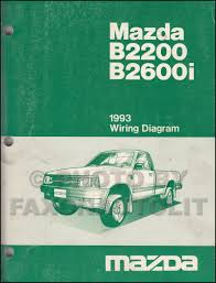 1993 mazda b2200 u0026 b2600i pickuptruck repair shop manual original