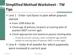 irs publication 721 worksheet the best and most comprehensive