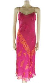 monsoon dress monsoon pink floral applique silk maxi dress