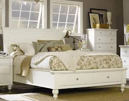 Queen Size Bedroom Wall Unit With Headboard Cambridge King Eggshell Storage Sleigh Bed By Aspenhome Classic