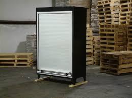 Roll Door Cabinet Garage Storage Cabinet Wheel Rachael Edward Roll Up Cabinet Doors