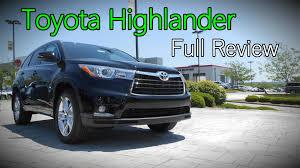 toyota highlander plus 2016 toyota highlander review le le plus xle limited