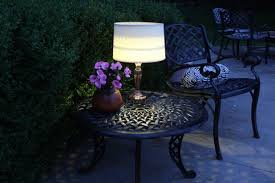 Patio Table Lights Light Up Your With An Easy Outdoor Table L