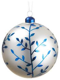 blue glass ornaments rainforest islands ferry
