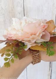 corsage wristlets gold corsage wristlets floral supplies at afloral