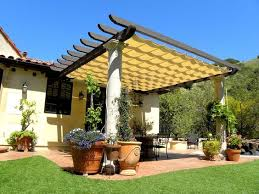 Alpha Awnings The Artistic Way To Do Shade Alpha Canvas U0026 Awning