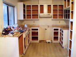 Kitchens Without Cabinets Unfinished Kitchen Cabinets Without Doors Choice Image Glass