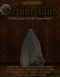 the horrors of halloween octoberland 2015 trailer poster