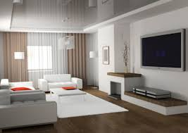 modern living room curtains solar design
