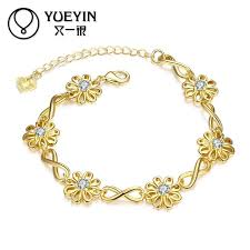 rose crystal bracelet images Luxurious jewelry rose gold color bracelets bengals for women jpg