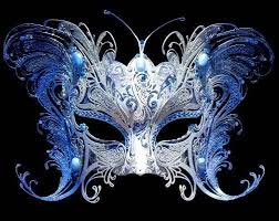 masquerade masks best 25 blue masquerade masks ideas on