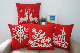 Sofa Pillows Covers by Christmas Throw Pillow Covers Easy And Inexpensive Christmas