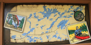 Boundary Waters Map Travels With Twinkles Ely Minnesota