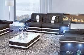 sofa mit led beleuchtung 2 sitzer carezza stoffcouch nativo frankfurt günstig kaufen