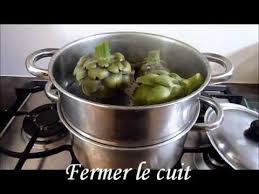 cuisine artichaut cuisson artichauts à la vapeur