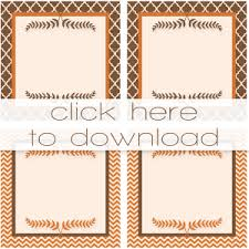 free templates for thanksgiving place cards happy thanksgiving