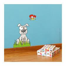 stickers animaux chambre bébé stickers animaux chien déco chambre bébé enfant série golo