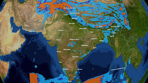 Map India India Weather Map My Blog