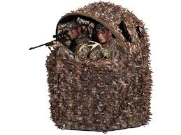 tent chair blind ameristep deluxe 3d leafy 2 chair ground blind mpn 3337a