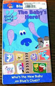 blue u0027s clues blue u0027s big news the baby u0027s here vhs 2001 brand