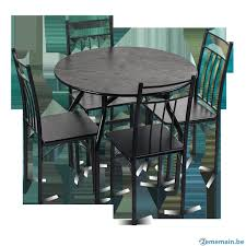 table avec 4 chaises table avec 4 chaises a vendre 2ememain be