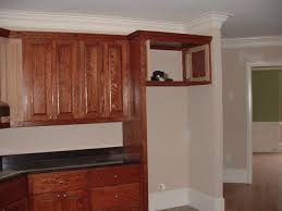 Kitchen Cabinet Top Molding by Simple Kitchen Cabinets Refrigerator I To Design Decorating Within
