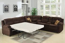 Leather Sectional Sleeper Sofas Leather Sectional Sleeper Sofa Recliner Tourdecarroll Pertaining