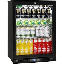 beer refrigerator glass door glass door commercial bar fridge with lg compressor