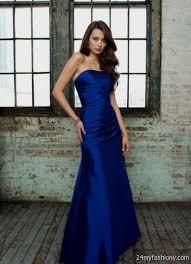 dark royal blue bridesmaid dresses 2016 2017 b2b fashion