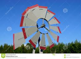 Nautical Weathervane Windmill Weathervane On Summer Day Stock Photo Image 57848180