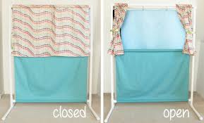 How To Make A Backdrop Pvc Puppet Theater Tutorial Cutesy Crafts