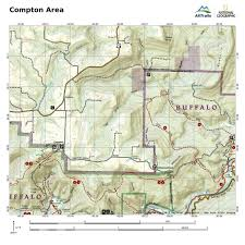 Buffalo Creek Trail Map Buffalo National River Attractions Quick Guide Ponca U0026 Boxley