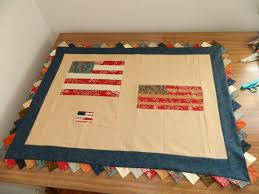 Wooden American Flag Wall Hanging Wedding Project Quilt Guest Book